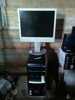 Packard Bell desktop both system unit n monitor forsale