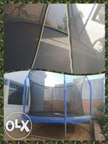 BOUNCHKING 10FT trampoline with safety net 3 units available
