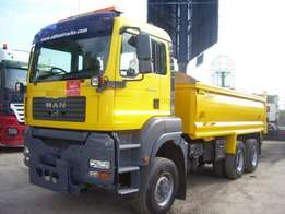 Man 6 By 6 Tipper Truck TGA 26.310
