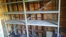 Double steel shelf for sale