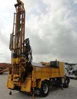 Water well Drilling Rig on Iveco Truck