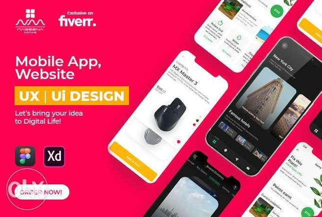 We do mobile app development for android and ios with flutter