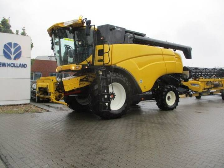 New Holland cx 8050 allrad - 2010