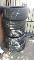 5 tyres for sale 235/35/19 two tyres are new