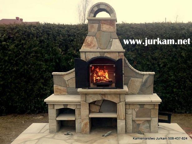 Groovy Wędzarnia Grill z Kamienia, kominek ogrodowy Limanowa • OLX.pl KK31