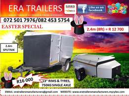 sputnik trailer for sale 2.4m sabs approved