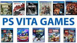 Ps Vita Games new Sealed