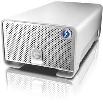 GRaid-with-Thunderbolt-4TB- 327MBS transfer speed dual Thunderbolt