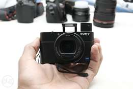 SONY RX100iii best 2018 compact pro vlog, travel camera