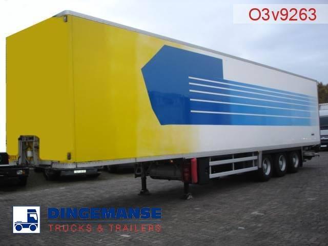 Samro / Aubineau 3-axle closed box trailer 91 m3 - 1997