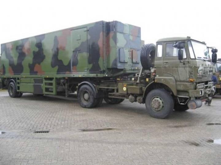 DAF YTV 2300 Pacton Fokker trailer