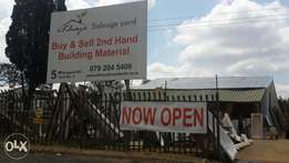 Cheap second hand building material