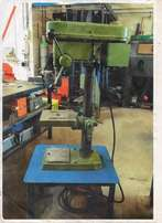 Column drill machine able to drill metals and timbers.It is an auto