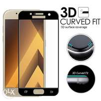 Complete Curved 4D Tempered Glass Screen Protector For Samsung A5 2017