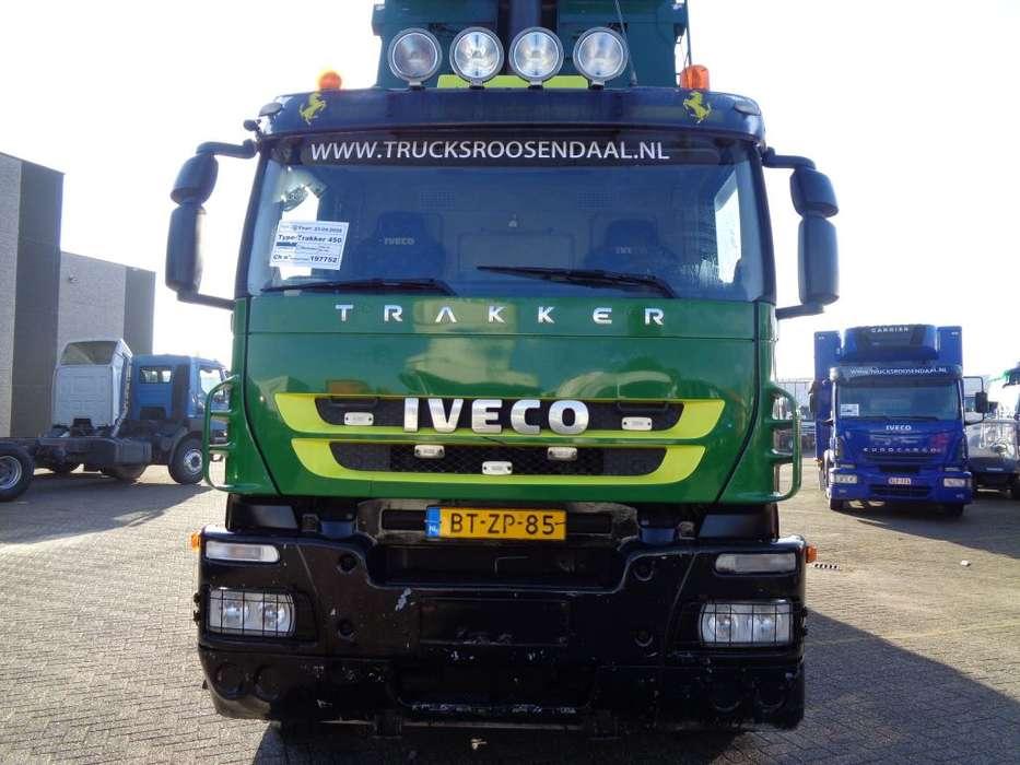 Iveco Trakker 450 + Euro 5 + KIPPER + PTO - 2008 - image 2