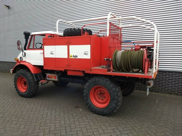 Unimog 416 416 brandweer snelle assen 125 pk - 1976 - image 3