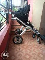 Babybed,stroller and feeding chair for sale