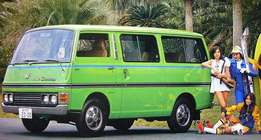 Wanted: privately owned minibus