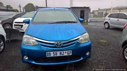 Toyota etios hatch 1.5 xs, Cloth Upholstery, Full Service History,