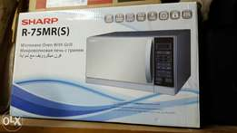 Sharp used microwave
