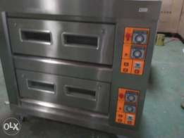 Gas deck oven 4trays