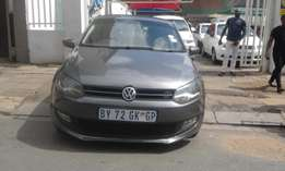 Vw polo 6 grey in color 1.6 confortline 2012 model 97000km R115000