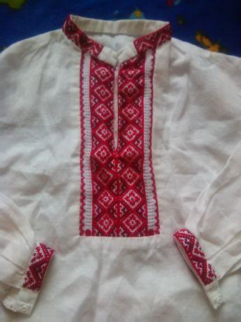 вишиванка вишита сорочка вышиванка рубашка на 4 роки свято праздник  Ивано-Франковск - изображение 1 1e7d0062f7950
