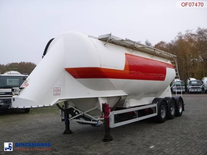 Feldbinder Bulk tank alu 38 m3 / 1 comp - 2000