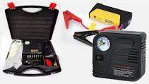 Emergency Car Jumpstarters with Air Compressors