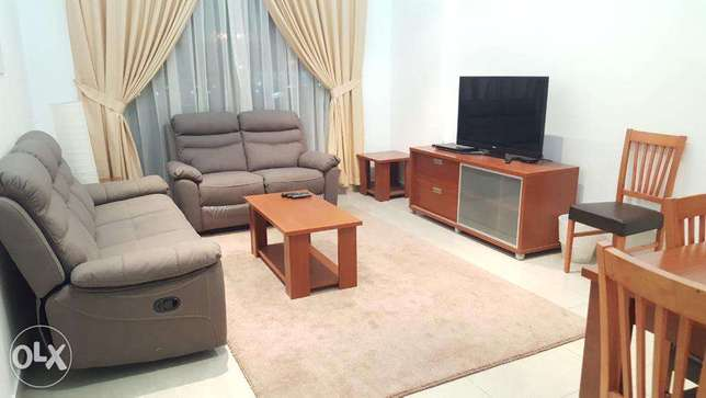 Mahboula - Elegant Fully Furnished 1 BR Apartment / Rent 400 KD