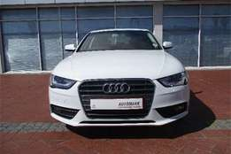 2012 Audi A4 2.0T SE, Color White, Price R154,000. Home Delivery aswel