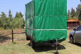 Closed Back Trailer For Sale