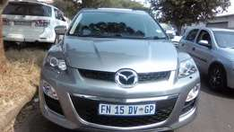 2013 Mazda CX7 2,3 Turbo Auto Colour Silver grey