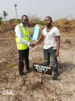 Own A Plot Survey Dry Land in Ibeju Lekki With Just #300k