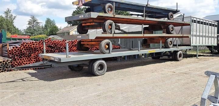 industriewagen 25 ton platform