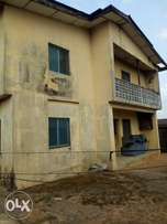 Four flat of 3bedroom on a plot of land at Shasha Akowonjo .