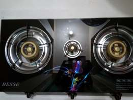 Glass Tampered Gas Cookers- Two Burner and Triple Burner