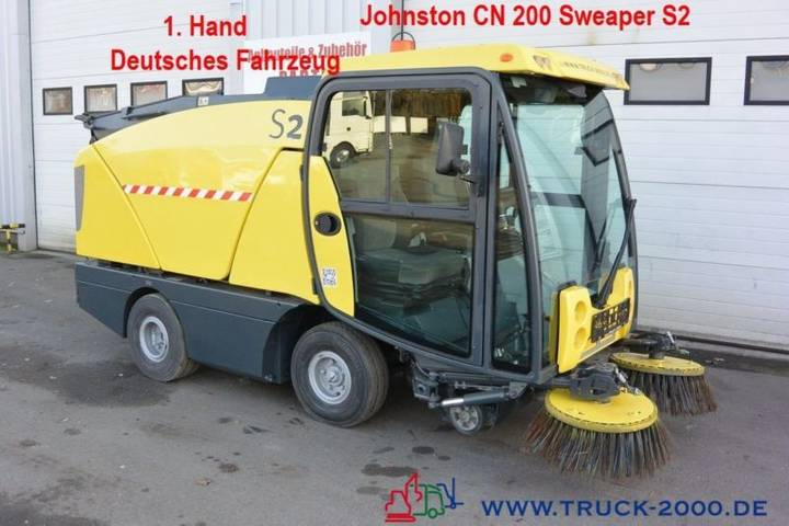 Johnston sweaper cn200 kehrmaschine 1.hand klima - 2012