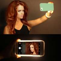 Brand New IPhone and Samsung compatible LED Phone Selfie case.