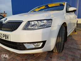 Very Neat White Skoda 2013, Full Service History. Only Kes 1.88m