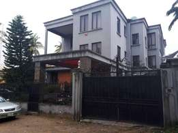 Lovely 7 bedroom Mansion with 3 rm bq at Shonibare Estate, Ikeja