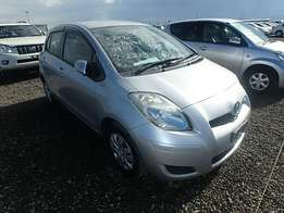 Toyota Vitz 2009 Silver color KCK