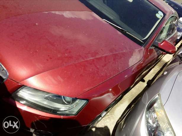 Audi A4 red colour new plate number Mombasa Island - image 2