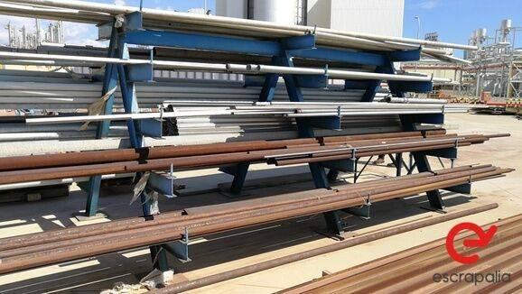 Sale estantería de hierro y tubos de acero industrial equipment