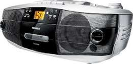 Toshiba radio - dvd video, usb, aux, cd, am/fm, can use as dvd player