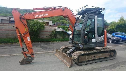 Hitachi Zaxis 85us-3 - 2012
