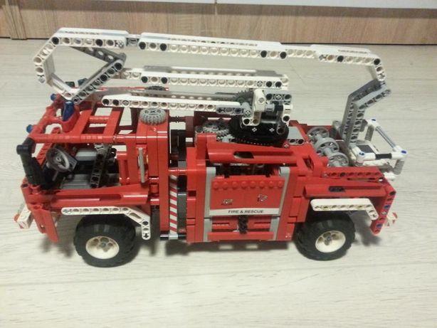 Lego Technic 8289 Fire Truck Wóz Strażacki Zapraszam Unikat
