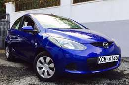 Mazda demio 2010 model kcm just arrived loaded royal blue 650,000/=