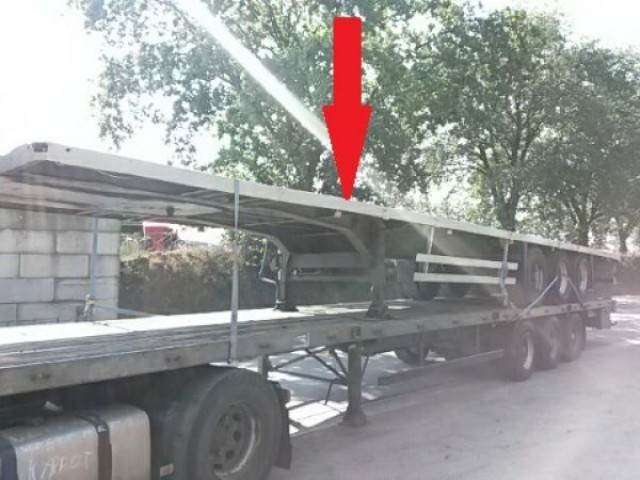 Schmitz Cargobull Oplegger 30 X Plateau/flatbed 30x! - 2000