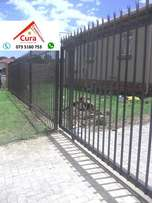 Palisade fence , clear view fencing , (Cura Construction)